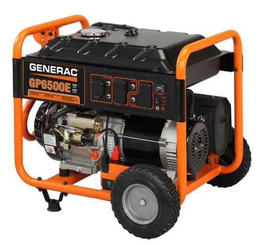 GP6500E PORTABLE GENERATOR-ELECRTIC START